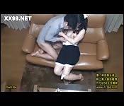 Asiatique infidèle baise dans cette vidéo