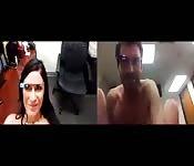 Première vidéo porno explicite filmé avec le verre Google