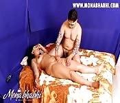 Indienne profite d'un massage érotique