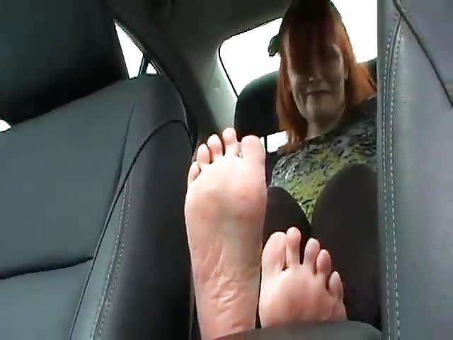 Seksowne stopy porno